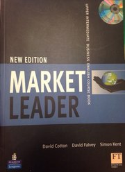 Market Leader New Adition Upper Intermediate course book business eng